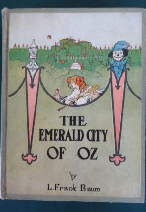Emerald city of oz book color plates l frank baum