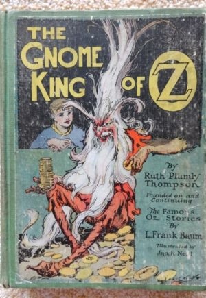 Gnome King of Oz 1st edition book