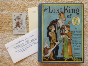 lost king of oz book 1st edition copp clark justin schiller
