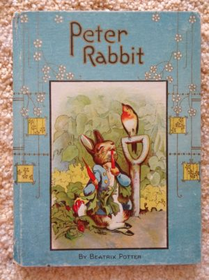 Peter rabbit book vintage hayes lithographing