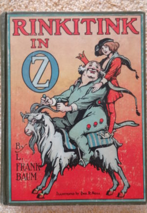 Rinkitink in oz book Reilly & Britton 1st edition