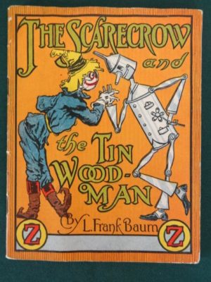 Scarecrow and tin woodman jello book wizard of oz