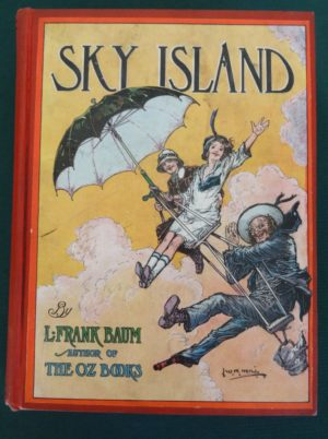 Sky Island 1st Edition book L frank baum wizard of oz