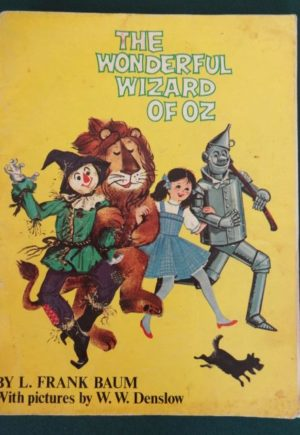 Wonderful Wizard of Oz book Denslow color plates