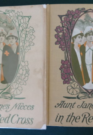 Aunt jane's nieces in the red cross 1st editin in dust jacket l frank baum