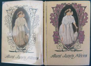 aunt jane's nieces, dust jacket, l frank baum book