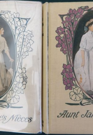 aunt jane's nieces, dust jacket, l frank baum book