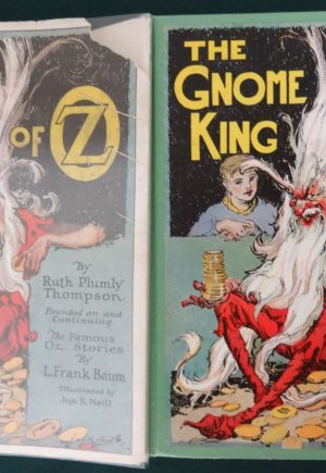 Gnome King of oz 1st Edition in Dust Jacket