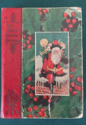 Night Before Christmas Stocking l frank baum book