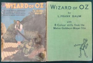 wizard of oz book hutchinson dust jacket 1939 mgm british