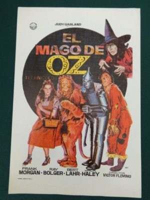 El Mago de Oz wizard of oz movie poster