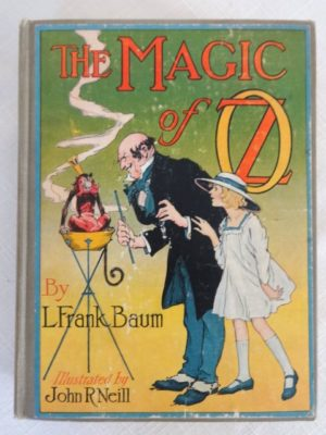 Magic of Oz Book Color plates wizard of oz