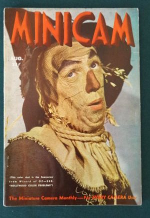 Minicam magazine 1939 Scarecrow cover wizard of oz mgm
