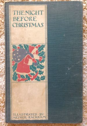 Arthur Rackham Night Before Christmas Book