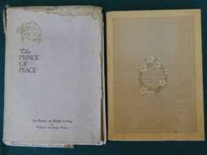 Prince of Peacei reilly & britton 1909 book in box