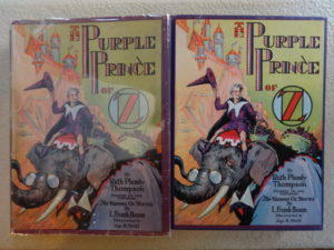 PURPLE PRINCE OF OZ 1932 1st Edn Book in Dust Jacket, 12 Color Plates