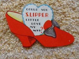 Ruby slipper valentine wizard of oz