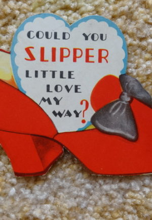 Ruby slipper valentine wizard of oz