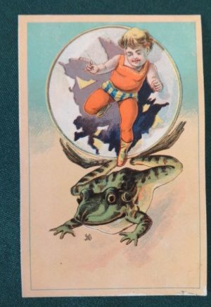 Denslow Trade Card Bubble baker & hayes
