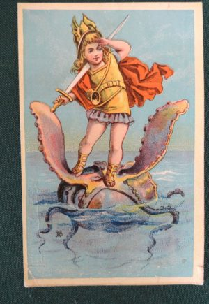 Denslow Trade Card Sea Creature baker and hayes