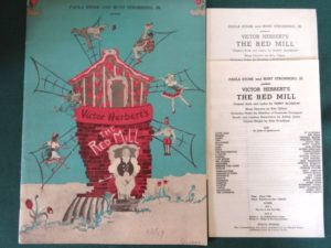 red mill program wizard of oz fred stone
