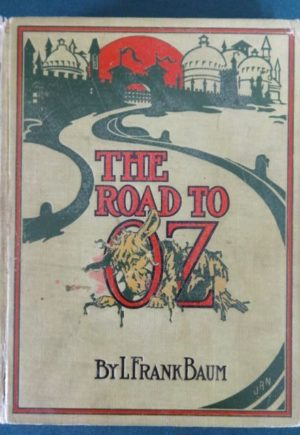 Road to Oz 1st edition wizard of oz book