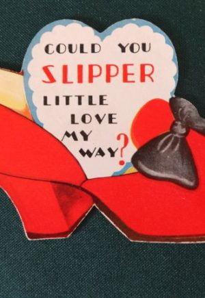 Ruby Slipper wizard of oz Valentine