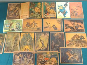 Russian wizard of oz Postcard set volkov