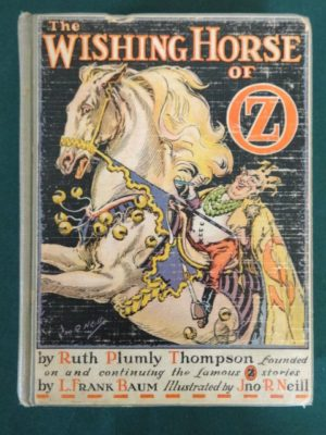 Wishing Horse of oz book 1st edition