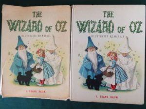 Wizard of oz book italian maraja