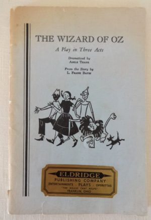 Wizard of oz play 1957