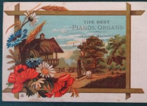 W W Denslow trade card