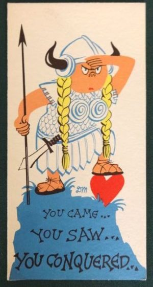 Dick Martin Viking Card