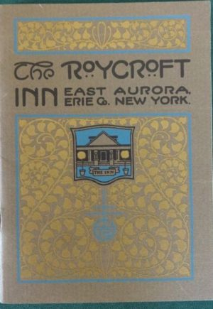 Roycroft Inn Memorial Booklet Original Elbert Hubbard