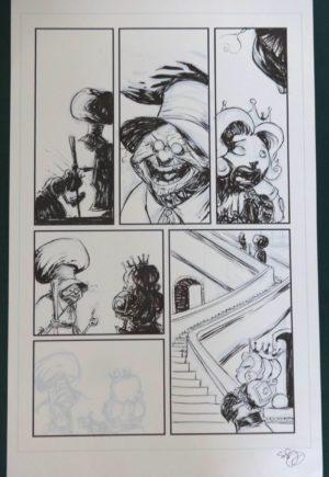 SKottie Young Marvel Original Art Oz Shanower