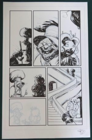 SKottie Young Marvel Original Art Oz Shanower