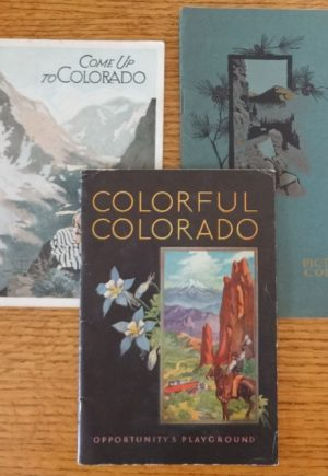 Vintage Colorado Travel Booklets