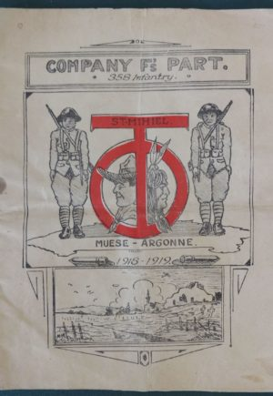 Company F Army Book WWI History