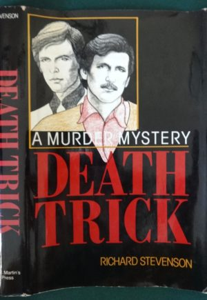 Death Trick book signed Stevenson Gay Interest