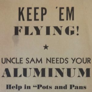 Keep Em Flying WWII broadside