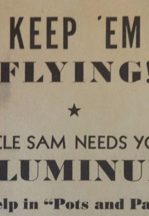 Keep Em Flying WWII broadside