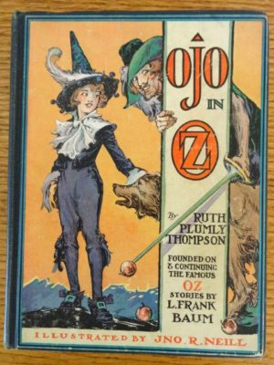 Ojo in Oz 1st edition wizard of oz book