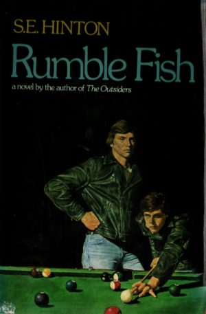 Rumblefish 1st Edition Book Hinton Outsiders