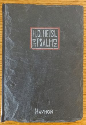 Bound in slate book die psalmen
