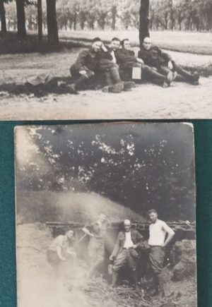 Soldiers in France Photo Postcards WWI St Mihiel