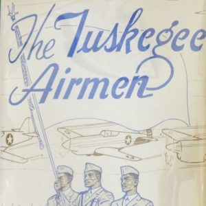 Tuskegee Airmen Signed by Flight Instructor Book