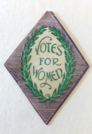 Votes for Women Seals Woman's Suffrage