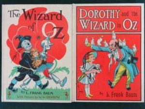 Wizard Dorothy in oz white cover