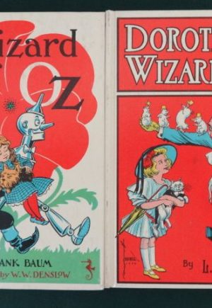 Wizard Dorothy in oz white cover