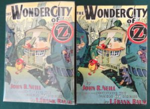 Wonder city of oz book dust jacket